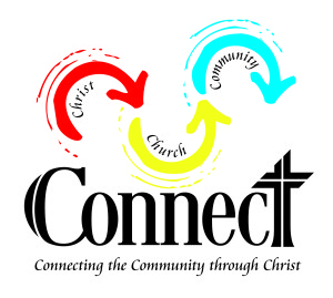 Connect - logo with words
