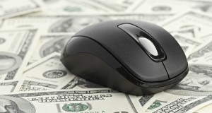 money and computer mouse